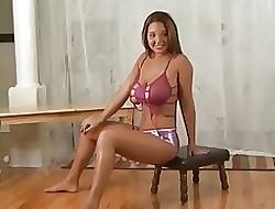 Strip-tease xxx videos de tetas porno